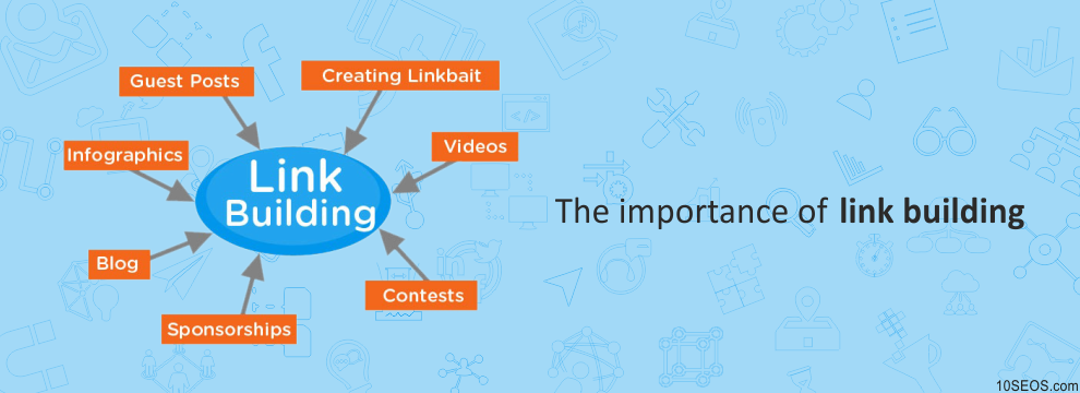 The importance of link building: