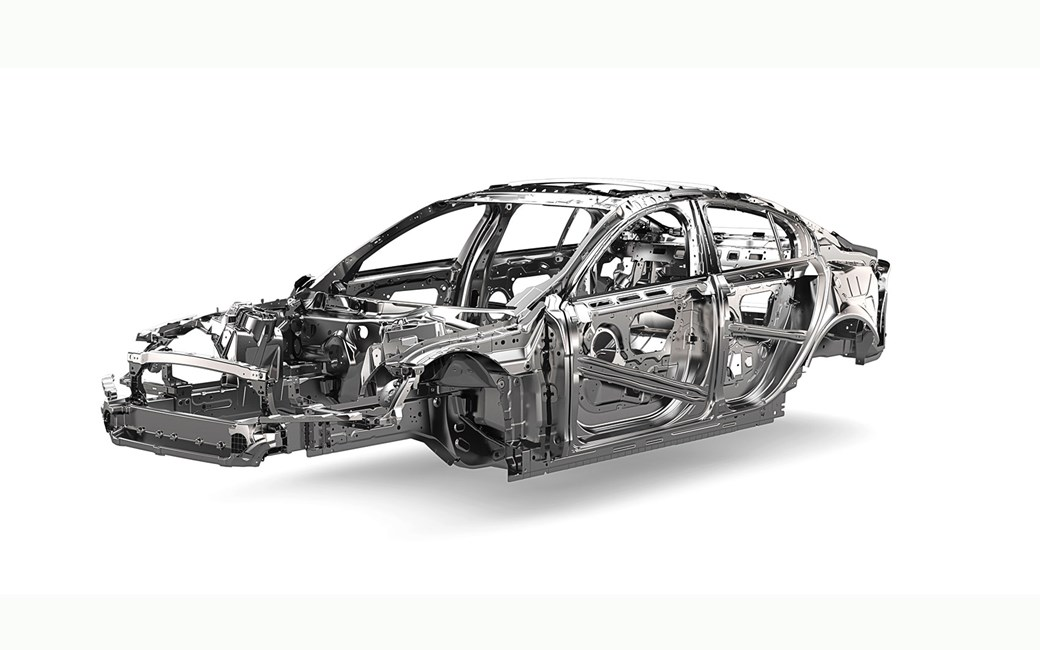 Jaguar XF 2016 chassis safety