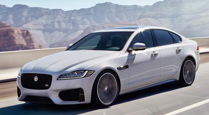 Jaguar XF 2016 exterior