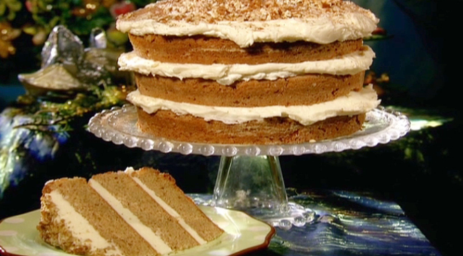 Tower of taste: Spice Cake