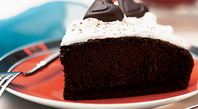 Not Common: Midnight chocolate cake