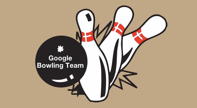 example for Google bowling