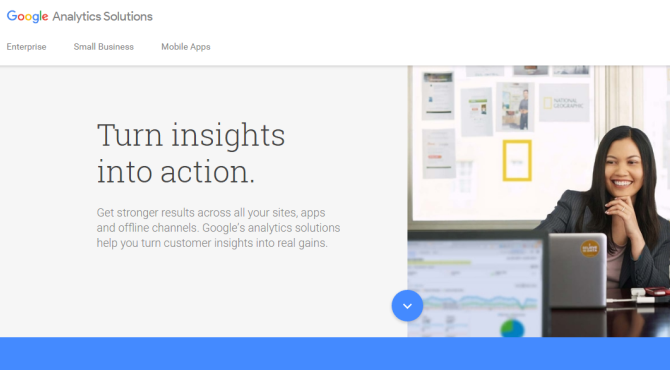 Google Analytics Experiments AB Testing Tool Screenshot