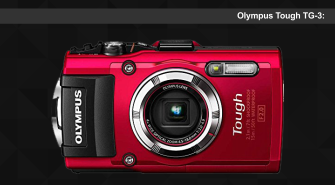 Olympus Tough TG-3 Camera