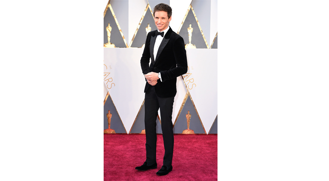 Eddie Redmayne at Oscars 2016