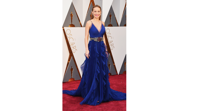Brie Larson at oscars 2016