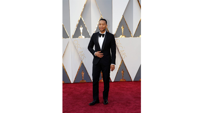 John Legend at Oscars 2016