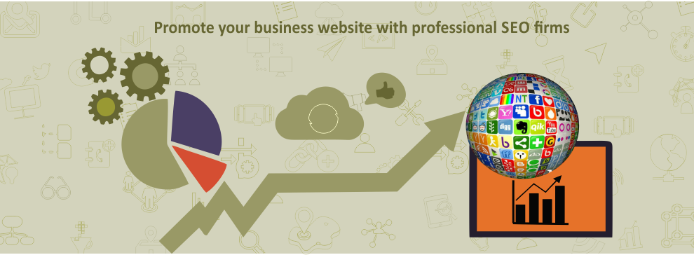 Promote your business website with professional SEO firms