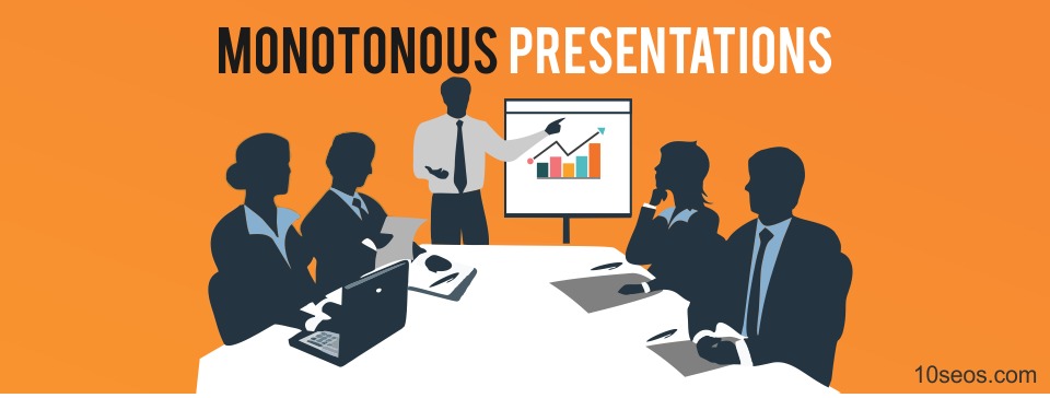An SEO Tip: Break Free From Monotonous Presentations