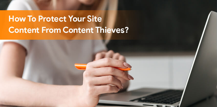 How To Protect Your Site Content From Content Thieves?