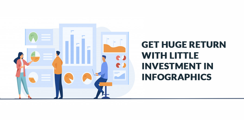 Get huge return with little investment in infographics