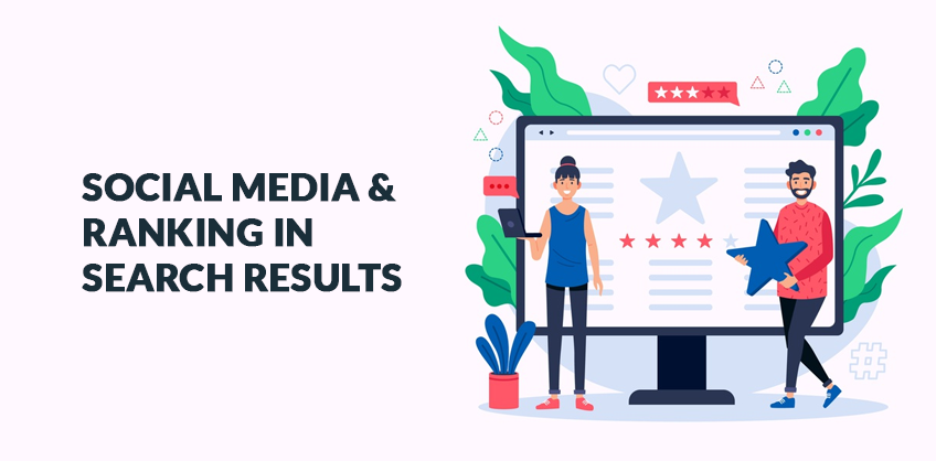 Social Media & Ranking In Search Results
