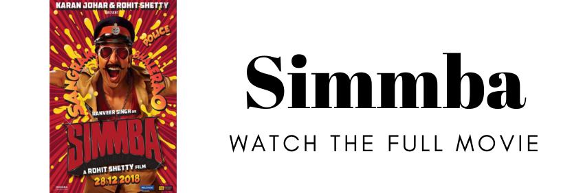 Watch the full movie Simmba online in HD