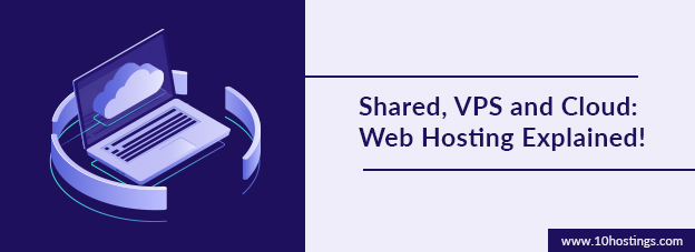 Shared, VPS and Cloud: Web Hosting Explained!