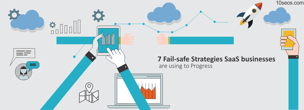7 Fail-safe Strategies SaaS businesses are using to Progress