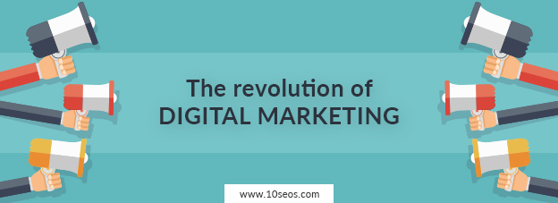 The revolution of digital marketing!