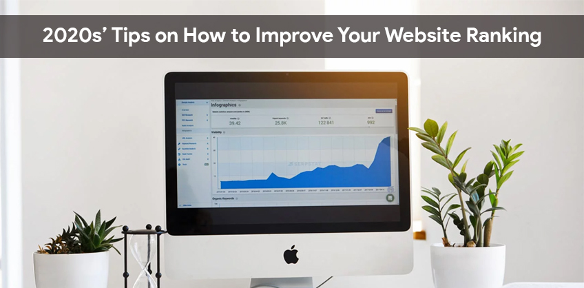 2020s' Tips on How to Improve Your Website Ranking