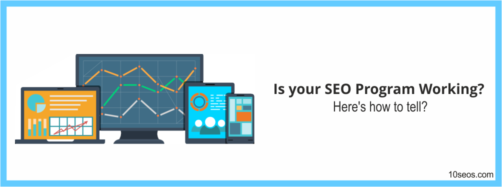 Is your SEO Program Working? Here's how to tell?