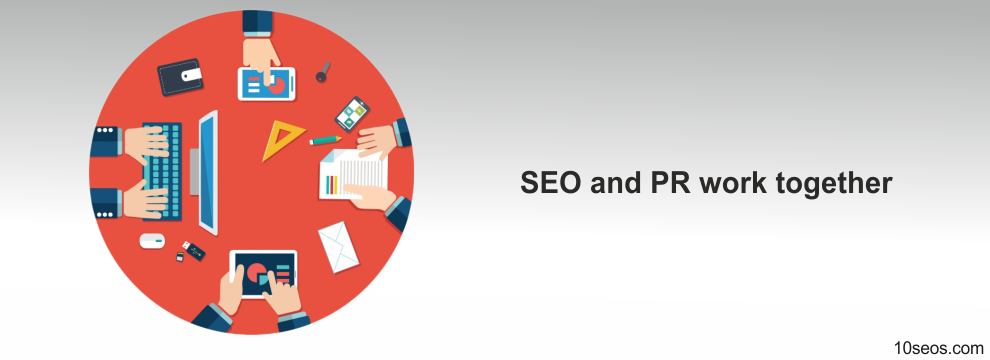 How can SEO and PR work together