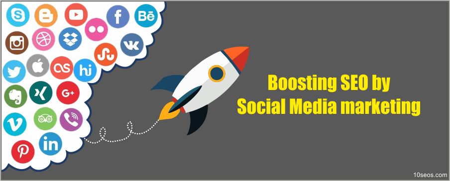 Boosting SEO by Social Media marketing