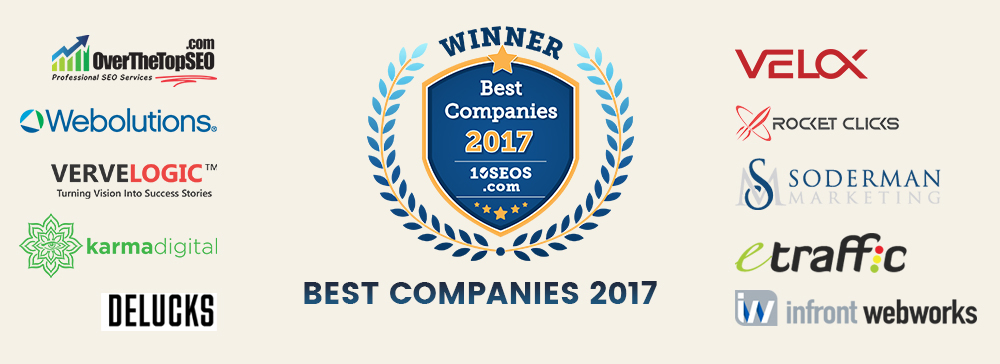 10seos announces Best Companies of the Year 2017 In Digital Marketing World