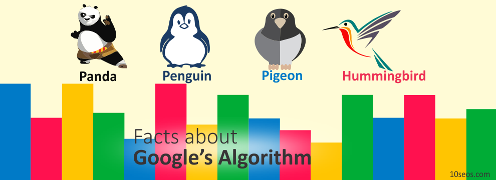 7 interesting things you might didn't  know about Google's Algorithm