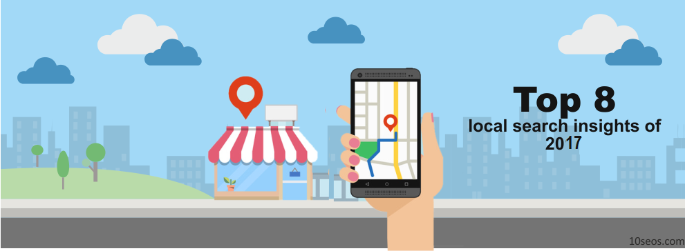 Top 8 local search insights of 2017