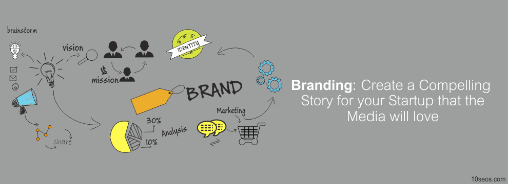 Branding: Create a Compelling Story for your Startup that the Media will love