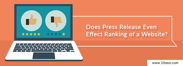 Does Press Release Even Effect Ranking of a Website?