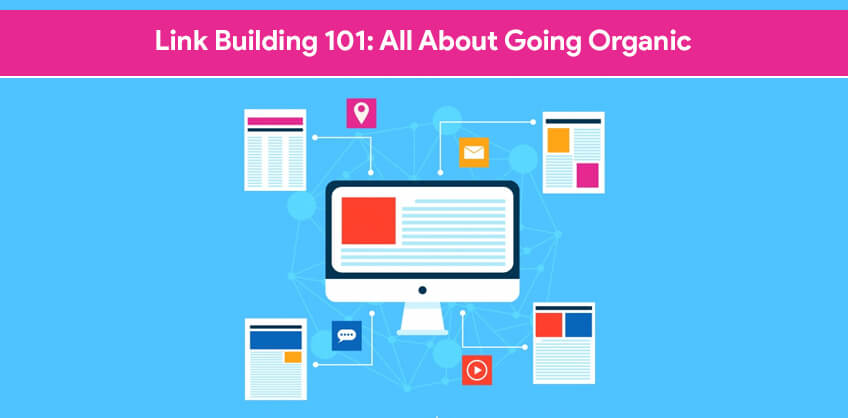 Link Building 101:   All about going organic