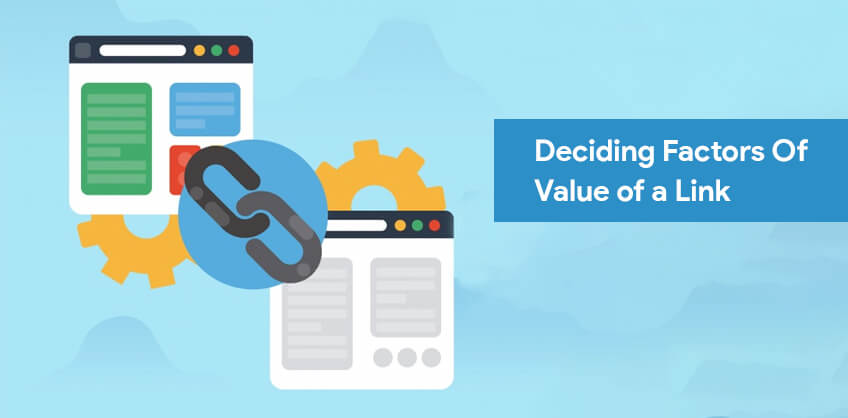 Deciding Factors Of Value of a Link