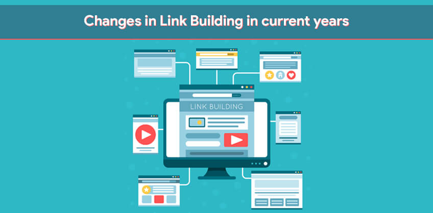 Changes in Link Building in current years