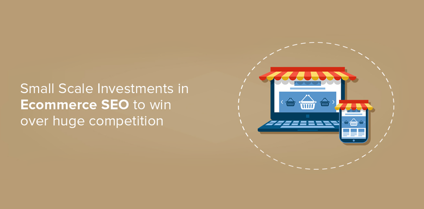 Small Scale Investments in Ecommerce SEO to win over huge competition