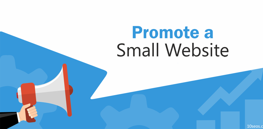 How to promote a small website