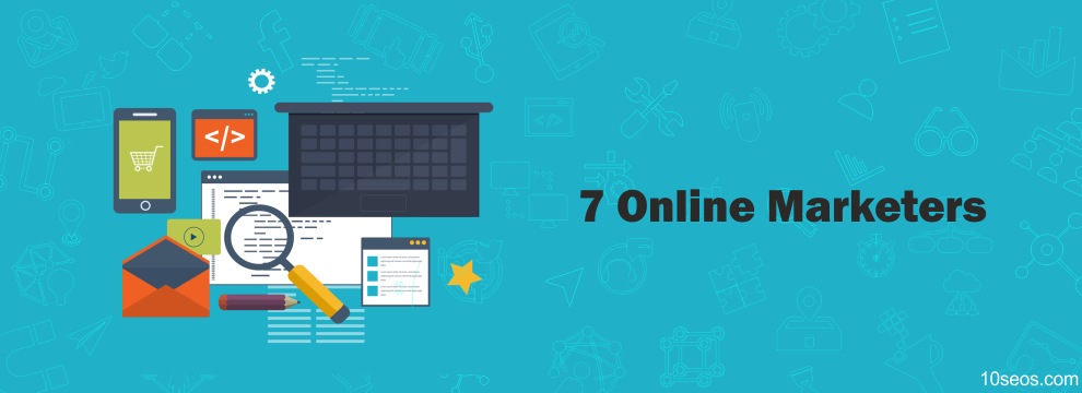 These 7 Online Marketers will Inspire You