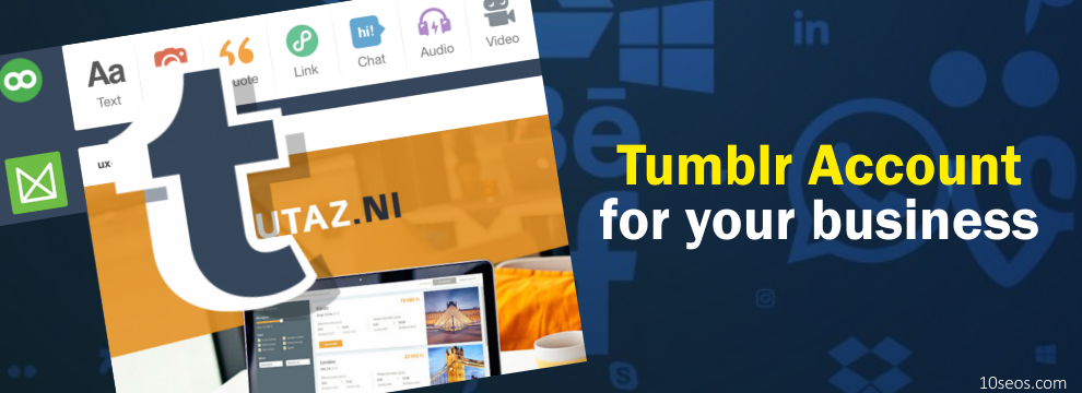 How to create a Tumblr account for your business?
