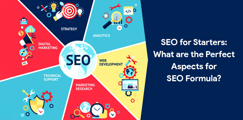 SEO for Starters: What are the Perfect Aspects for SEO Formula?