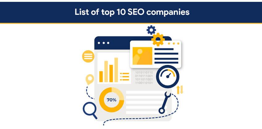 List of top 10 SEO companies
