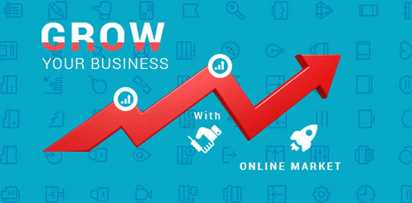 How can you grow your business in online market