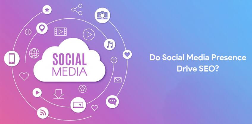 Do Social Media Presence Drive SEO?