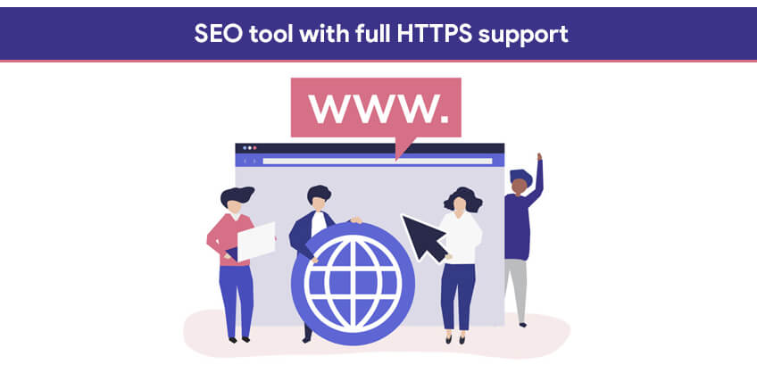 SEO tool with full HTTPS support