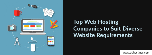 Top Web Hosting Companies to Suit Diverse Website Requirements