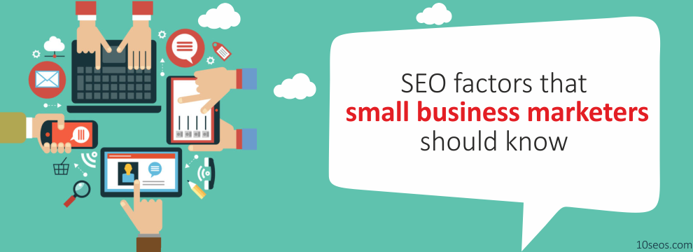 What are the basic SEO factors that small business marketers should know?