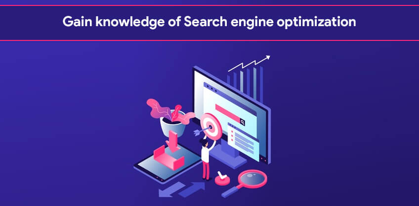 Gain knowledge of Search engine optimization