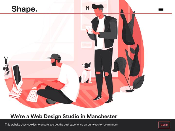Shape Design Studio on 10Hostings