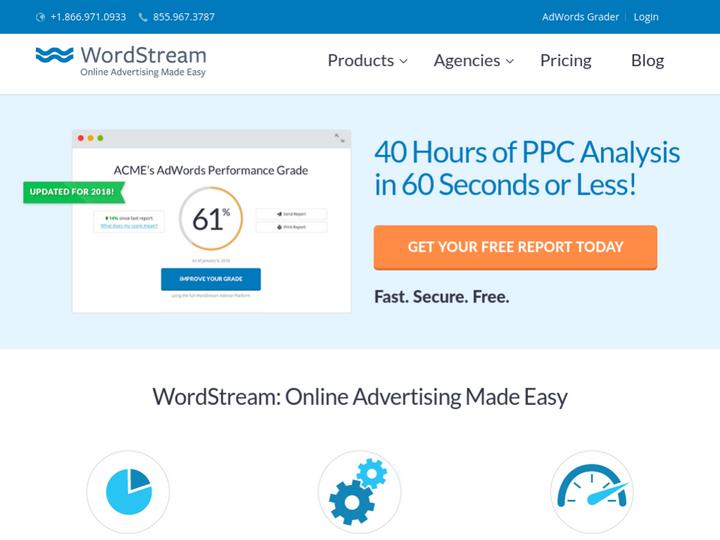 WordStream Inc on 10Hostings