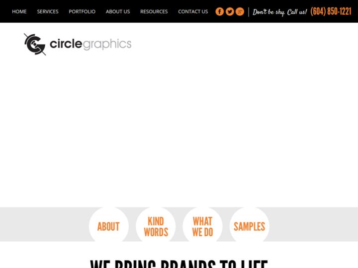 Circle Graphics & Design on 10Hostings