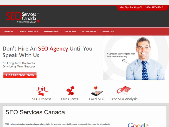 SEO Services Canada on 10Hostings
