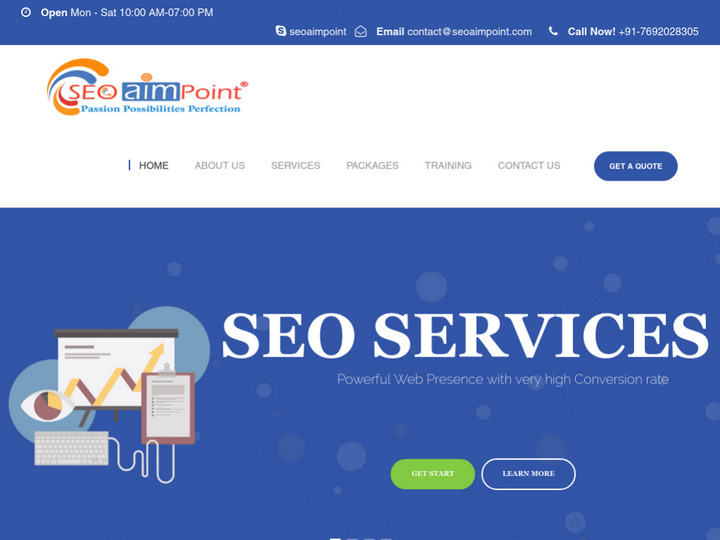 SEO AIM POINT Web Solution Pvt. Ltd. on 10Hostings