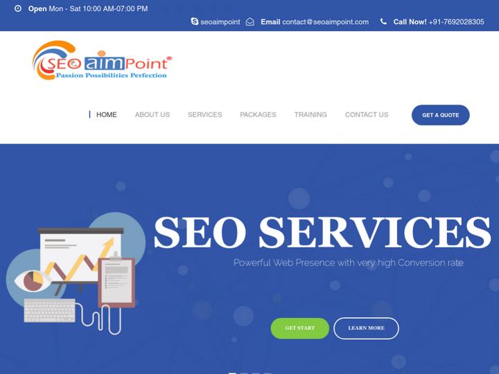 SEO AIM POINT Web Solution Pvt. Ltd. on 10Hostings